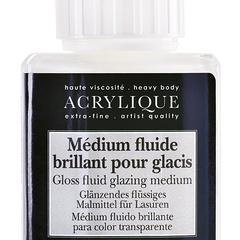 medium fluido brillante per glacis
