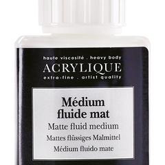 medium fluido opaco