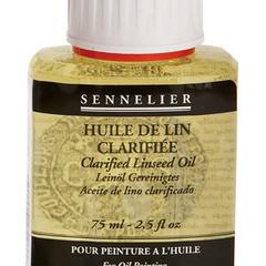 olio di lino chiarificato