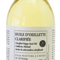 olio di papavero chiarificato