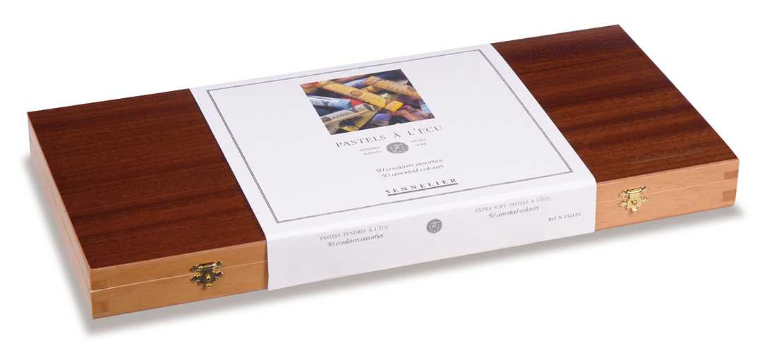Cofanetto foderato in legno di lusso n132124-coffpastecu50ferme