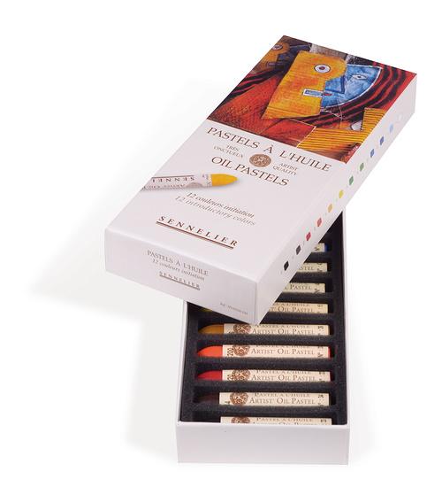 Pastelli a olio - Scatole di cartone n132520-120-ouverte