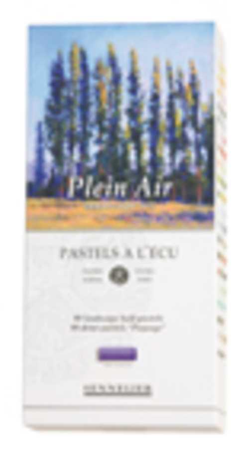 Astuccio cartone Plein air n132235boite80demipastelspleinairtranchecouleurs