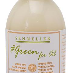 vernice opaca green for oil