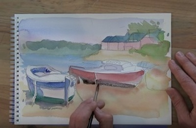 How To Paint Your First Watercolor?